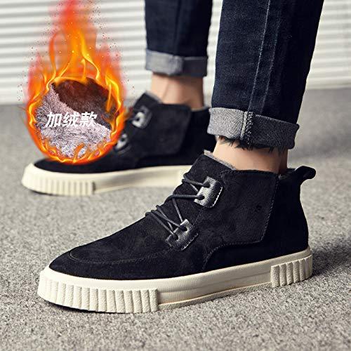EAOJRSCSA EAOJRSCSA EAOJRSCSA Plus Samt warme Herrenschuhe Winter Gezeiten Schuhe Hohe Schuhe Männer Baumwolle Schuhe Trend Casual Schuhe Männer Hohe Schuhe 25325f