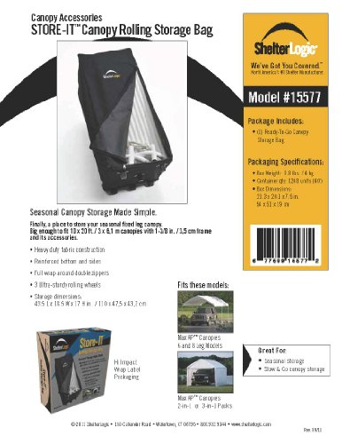 Canopy Storage Bags - 1