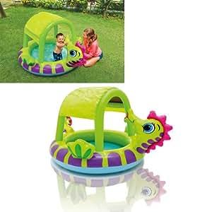 intex 57110 inflable piscina caballo c/parasol 188x147