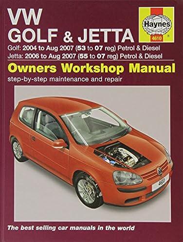 vw golf and jetta petrol and diesel service and repair manual 2004 rh amazon co uk Polaris Repair Manual Scooter Repair Manual