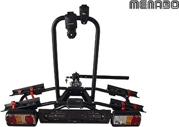 MENABO Porta Bicicletas para Bola de Remolque - NAOS Rapid: Amazon.es: Coche y moto
