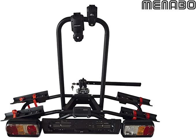 MENABO Porta Bicicletas para Bola de Remolque - NAOS Rapid: Amazon ...