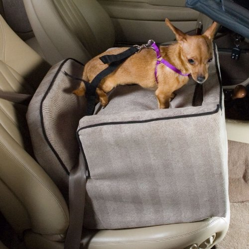 snoozer-luxury-i-lookout-pet-car-seat-medium-herringbone-with-black