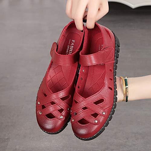 EU Rouge Chaussures coloré ZHRUI Taille Noir 41 aIAZgqn