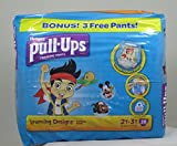 Huggies Pull-Ups Training Pants with Learning Designs for Boys, 2T-3T, 28 Count (Packaging May Vary)