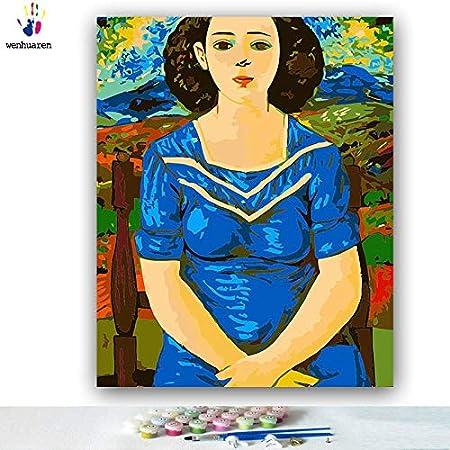 Kit de pintura al óleo para niños, estudiantes, adultos principiantes con pinceles y pigmento acrílico - El primo de la familia de la tía de Van Gogh's