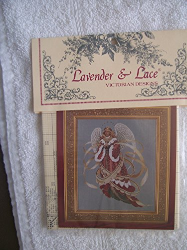 Victorian Lace Patterns - Lavender & Lace - Angel of Christmas - Victorian Counted Cross Stitch Pattern (L&L 39)