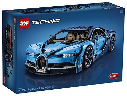 511NdFveRcL - LEGO Technic Bugatti Chiron 42083 Race Car Building Kit and Engineering Toy, Adult Collectible Sports Car with Scale Model Engine (3599 Piece)