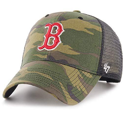 Cap Camo Boston 47 Red Mvp marca Sox Branson Y6f4q