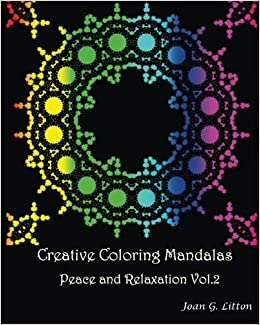 Amazon.com: Creative coloring mandalas Peace and Relaxation ...