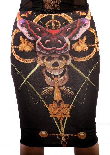 Iron Fist Mayan Temple Skirt Mayan Pencil Skirt