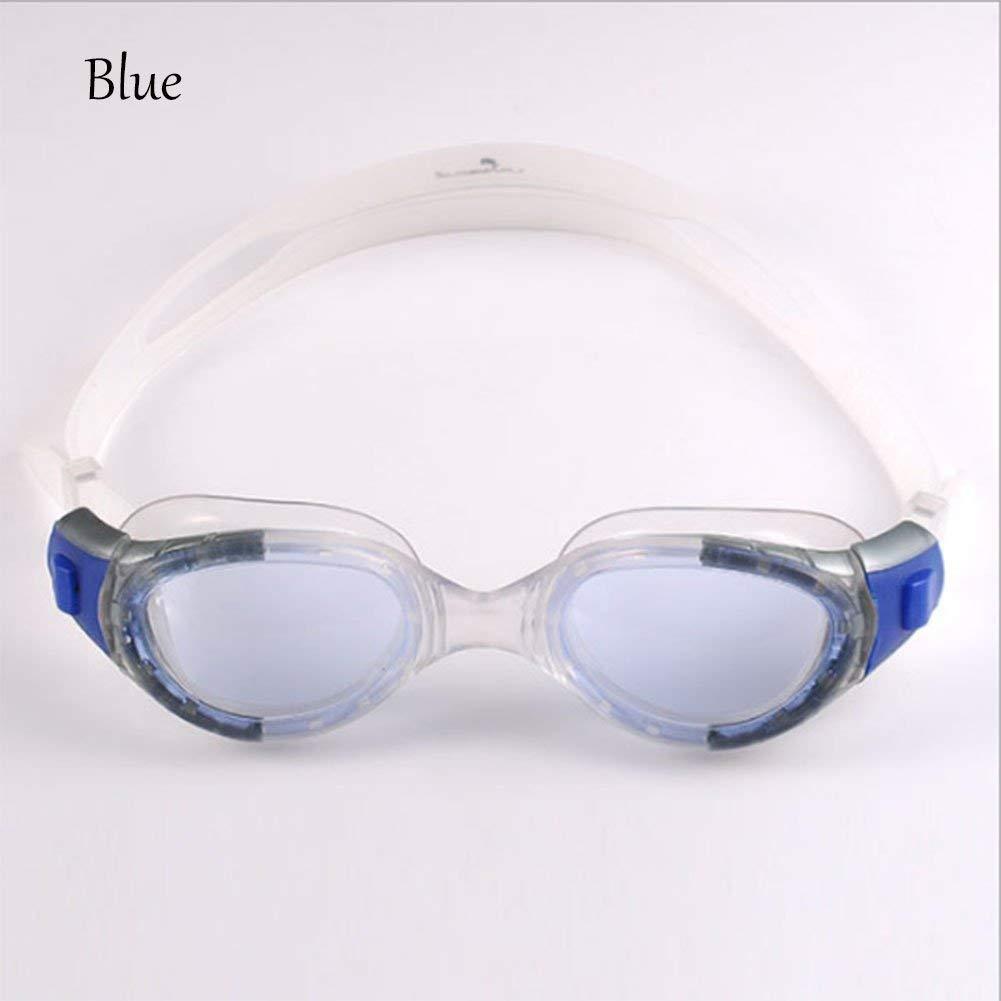 Flowerrs Wasserdichte Brille Anti-Fog Hd Flache Schwimmbrille Erwachsene Unisex, himmelblau, B07PHKJ7K1 Schwimmbrillen Neuer Stil