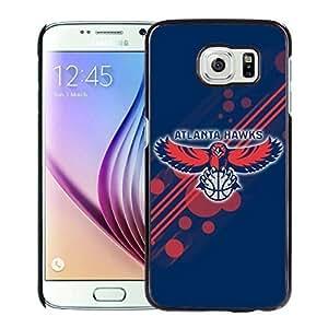 New Custom Design Cover Case For Samsung Galaxy S6 Atlanta Hawks 12 Black Phone Case Kimberly Kurzendoerfer