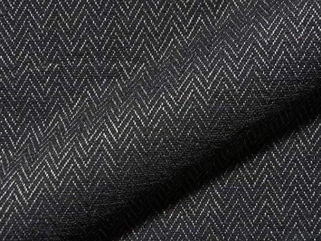 Raumausstatter.de Freeman 188 - Tela de tapicería para Coser y tapizar, diseño de Espiga, Color Negro: Amazon.es: Juguetes y juegos