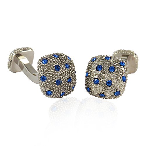 Crystal Pave Cufflinks By Jewelry - Pave Cufflinks Crystal