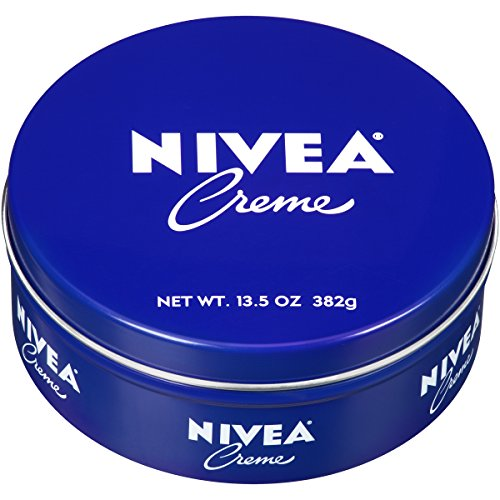 - NIVEA Crème - Unisex All Purpose Moisturizing Cream for Body, Face and Hand Care - 13.5 oz. Tin Jar