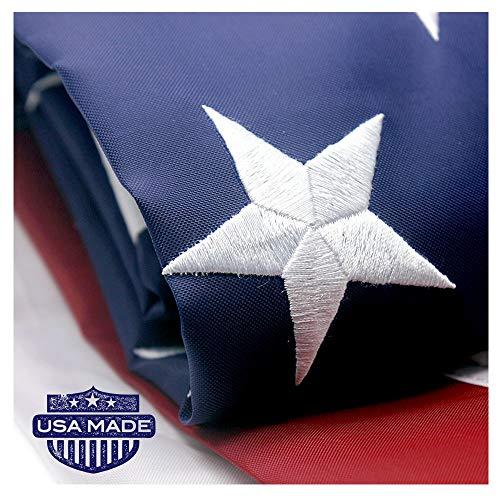 VSVO American Flag 4x6 ft - Long Lasting Heavyweight Nylon B