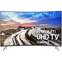 Samsung Electronics UN55MU8500 / UN55MU850D Curved 55-Inch 4K Ultra HD Smart LED TV (2017 Model) (Certified Refurbished)