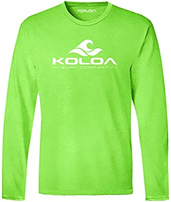 Joe's USA Koloa Surf Lightweight Graphic Long Sleeve T-Shirts in Sizes S-6XL