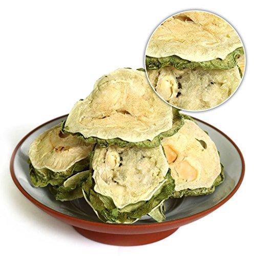 (GOARTEA 500g (17.6 Oz) Organic Premium Natural Dried Bitter Gourd KuGua Bitter Melon Tea Gohyah Chinese Herbal)