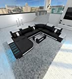 XXL Sectional Sofa BELLAGIO LED U Shaped