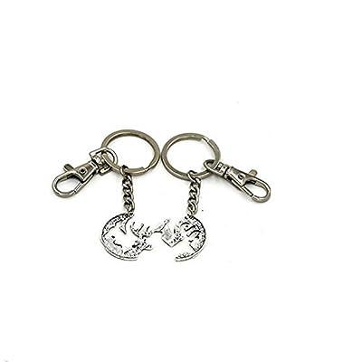 2Cerf Charms Porte-clés Best Friends Bijoux BFF Porte-clés