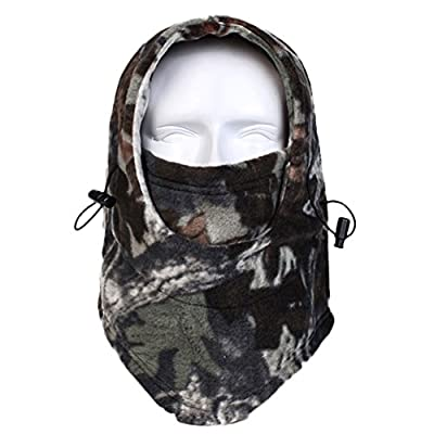 Snow Skiing Mask Winter Hunting Outdoor Sport Balaclavas Fleece Hood