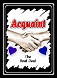 ACQUAINT - The 'Real Deal' Dating Card Game (Rose Version 1)