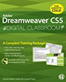 img - for Dreamweaver CS5 Digital Classroom (Book and Training Video) book / textbook / text book