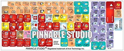 New Pinnacle Studio Keyboard Decals Shortcuts