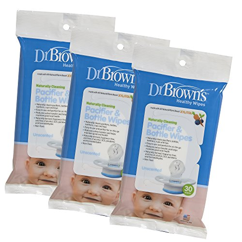 Dr. Brown's 3 Piece Pacifier and Bottle Wipes