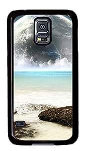 Samsung Galaxy S5 Earth And Sea Water PC Custom Samsung Galaxy S5 Case Cover Black