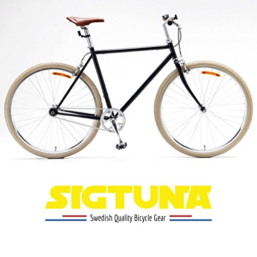SIGTUNA Bike Lock - 8mm Bike Chain Lock Cable Made of U Lock ABS Steel Combination Links with 3 Keys and Heavy Duty Nylon Protective Sleeve Plus Key Hole Cover Mount Holder by Sigtuna Gear (Image #6)