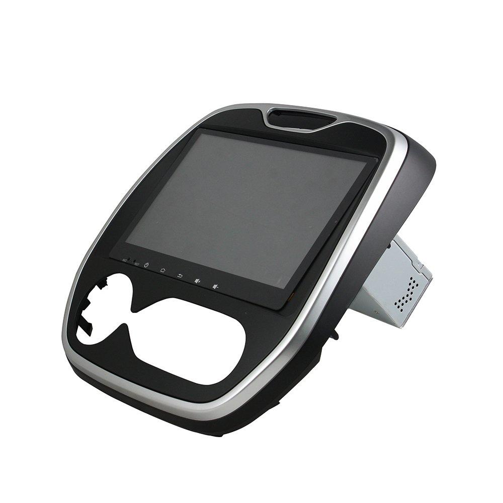 kunfine Android 8.0 Octa Core Coche Reproductor de DVD GPS navegación Multimedia estéreo de Coche para Renault Capture 2016 Autoradio Control de Volante con ...