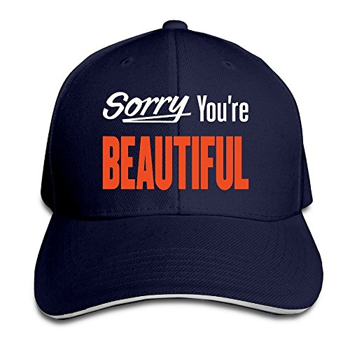 Make Your Own Costume Online For Free (MaNeg Sorry You're Beautiful Sandwich Peaked Hat & Cap)