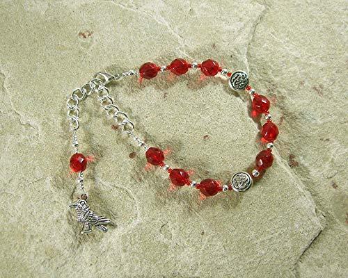 Morrigan Prayer Bead Bracelet: Irish Celtic Goddess of War, Death and - Beads Goddess Prayer