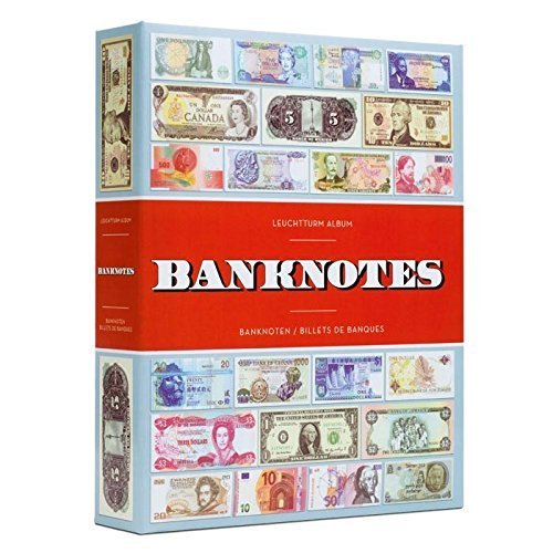 LEUCHTTURM1917 Album BANKNOTES for 300 banknotes, with 100 Bound Sheets