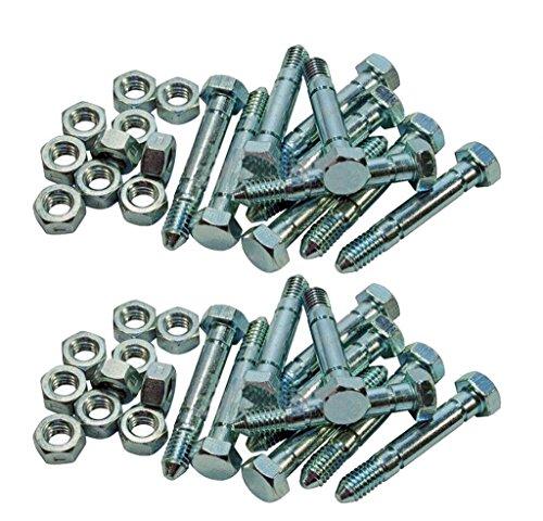 Stens 780-011-2pk Shear Pin (Bolt & Nut) 2