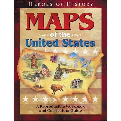 Counting Number worksheets free us history worksheets : Maps of the United States Workbook (Heroes of History): Emerald ...