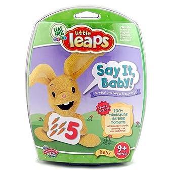 Leapfrog Leapfrog Little Leaps Say It Baby Kindercomputer
