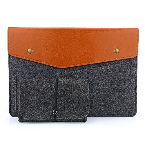 Devinal 9-10 Inch Sleeve Bag/ Protective Felt Case Cover ...