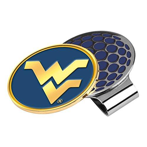 LinksWalker NCAA West Virginia Mountaineers Golf Hat Clip with Ball Marker