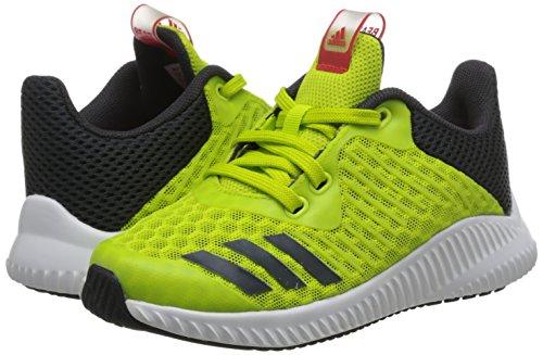 adidas Fortarun Cool K - sesoye/carbon/ftwwht, Größe:33-