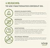 Organic Fractionated Coconut Oil - Amazing