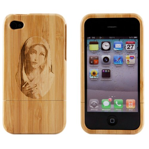 Boho Tronics Bohobamboocases Natural Handmade hard wood Bamboo Engraved Penny Farthing Bicycle Case Cover For iPhone 7 & iPhone 8 For Apple iPhone 7 & iPhone 8