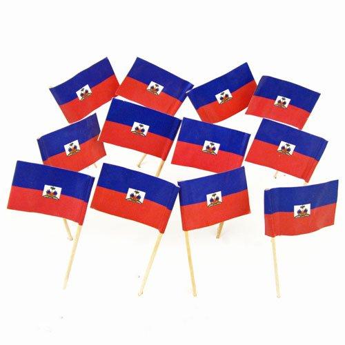 Haiti | Haitian Flag Toothpicks (100)