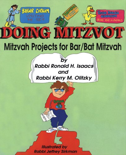 Doing mitzvot: Mitzvah projects for bar/bat mitzvah -