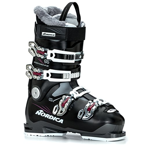 Nordica Sportmachine 65 W Womens Ski Boots - 26.0/Black-Purple