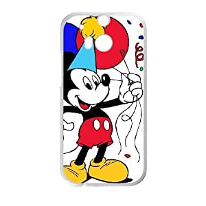 HTC One M8 phone case White Mickey Mouse QWE7501981