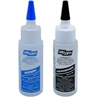 CECCORP C-POXY 5 Epoxy Adhesive Two-Part High Performance General Purpose Structural-Unfilled-Fast Setting Epoxy - Glue…